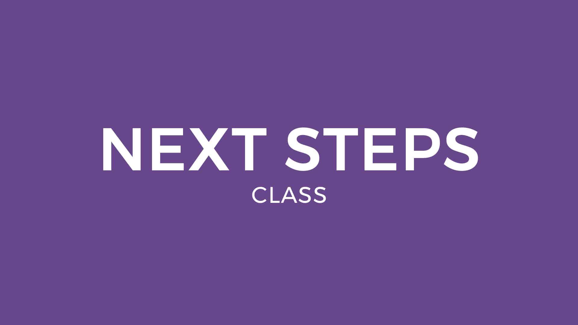 nextsteps-class